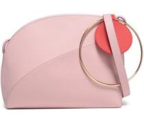 Pebbled-leather Shoulder Bag Baby Pink Size --