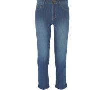 The Fling striped boyfriend jeans