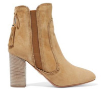 Tristan fringed suede ankle boots