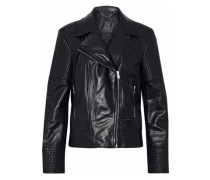 Matterlex leather biker jacket