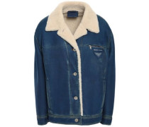 Shearling Jacket Royal Blue