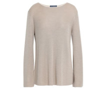 Wool and silk-blend sweater