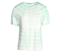 Tie-dyed stretch-jersey T-shirt