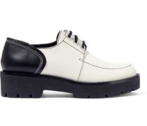 Leather Brogues White