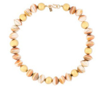 Gold-plated Shell Necklace Gold Size --