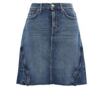 Mini Skirt Mid Denim  6