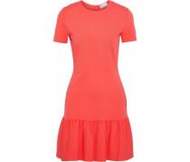 Gathered cady mini dress