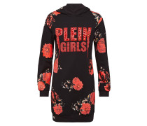 "Hoodie sweatshirt ""Shiny Flowers"""