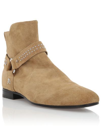 Philipp Plein Herren Boots Low Flat