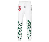 "Jogging Trousers ""Green money"""