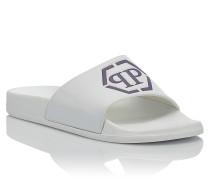"Sandals Flat ""Cherie"""