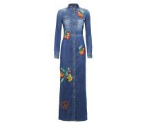 "Denim Shirt Dress ""Asiatic Lily"""