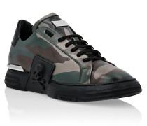 PHANTOM KICK$ Lo-Top Leather Camouflage