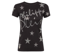 "T-shirt Round Neck SS ""Stars in Plein"""