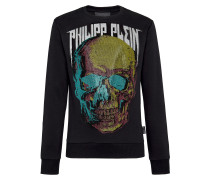 Sweatshirt LS Skull and Plein
