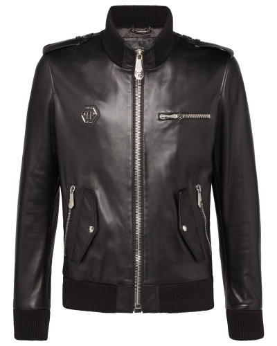 "Leather Jacket ""Metal"""