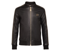 "Leather Bomber ""Studs"""