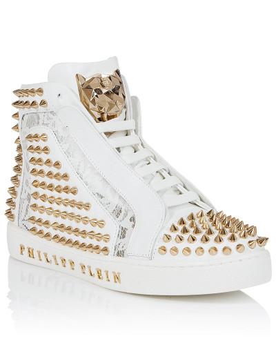 """Hi-Top Sneakers """"Everybody on the floor"""""""