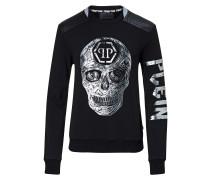 "Sweatshirt LS ""Handmade skull"""