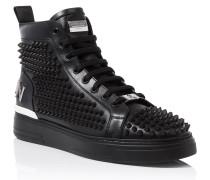 """Hi-Top Sneakers """"Loden"""""""