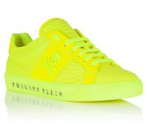 "Lo-Top Sneakers ""Talk slow fluo"""