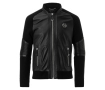 """Leather Bomber """"Why don`t you"""""""