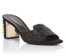 """Sandals Mid Heels """"Marine"""""""
