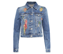 "Denim Jacket ""Glaudiolus"""