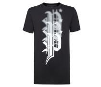 "T-shirt Round Neck SS ""Plein gang"""