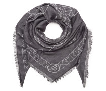 "Square Scarf ""Skull for six"""