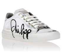 "Lo-Top Sneakers ""Signature mirror"""