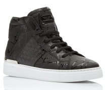 "Hi-Top Sneakers ""Black one"""