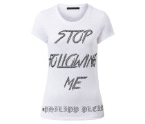 """T-shirt Round Neck SS """"Stop"""""""