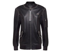 "Leather Bomber ""Betty Garner"""