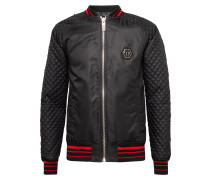 "Nylon Jacket ""Skull snake red"""
