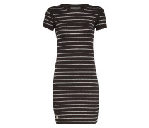 "Short Dress ""Crystal stripes"""
