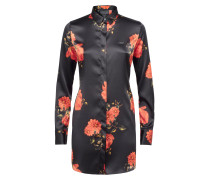 "Shirt ""Black And Roses"" - Slim Fit"