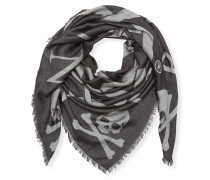 "Square Scarf ""Skull all in"""