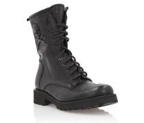 "Boots Low Flat ""Big Skull"""