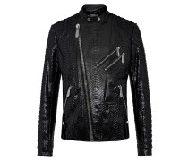 Leather Biker slim fit Luxury