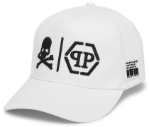 Visor Hat Skull and Plein