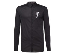 """Shirt Platinum Cut LS """"Gothic P"""""""