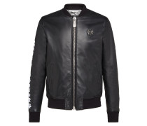 Leather Bomber Sculptures