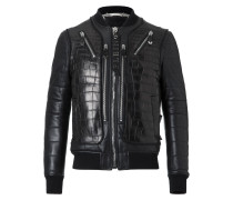 "Leather Bomber ""Jackie"""