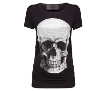 "T-shirt Round Neck SS ""Front skull"""