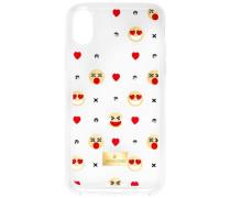 Humorist Smartphone Etui mit integriertem Bumper, iPhone® X, transparent Edelstahl