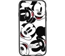 Mickey Face Smartphone Schutzhülle mit integriertem Stoßschutz, iPhone® 8, schwarz