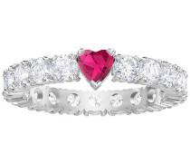 Love Ring, weiss, rhodiniert Weiss Rhodiniert