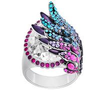 Hearty Ring, mehrfarbig, palladiniert Mehrfarbig dunkel Rhodiniert