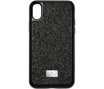Glam Rock Smartphone Etui mit integriertem Bumper, iPhone® X/XS, schwarz